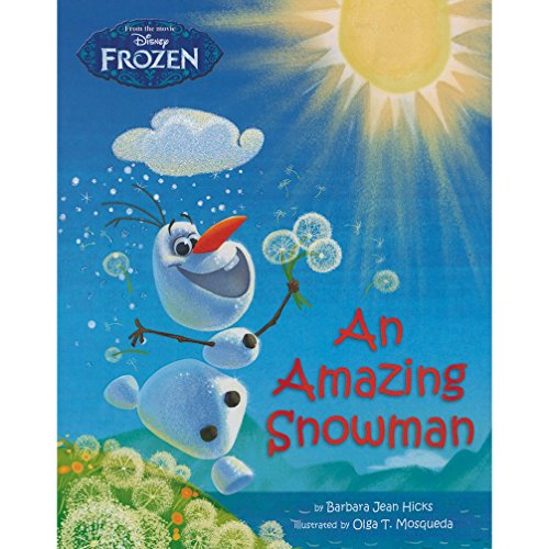 9781472377500: Disney Frozen - An Amazing Snowman