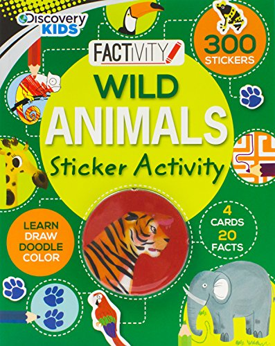 9781472379306: Wild Animals (Discovery Kids) (Discovery Kids Factivity)