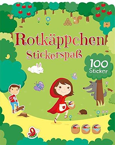 9781472381217: M�rchen Stickerspa� -Rotk�ppchen: mit 100 Stickern