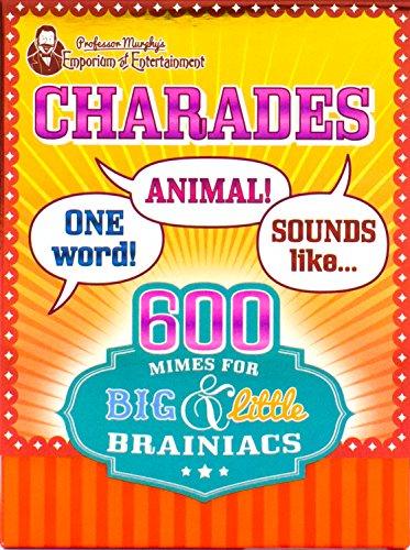 9781472381606: Professor Murphy's Charades (Professor Murphy Cards)