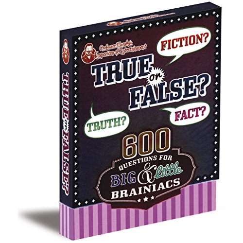 9781472381637: Professor Murphy's Game Cards: True or False?: 600 Questions for Big & Little Brainiacs