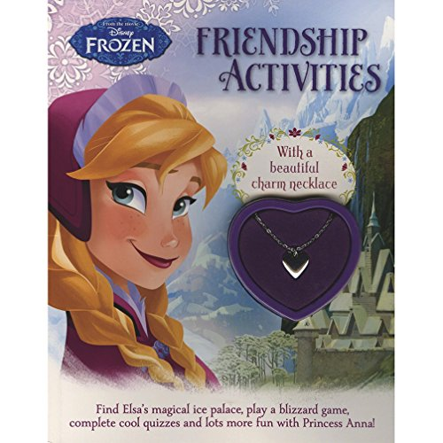 9781472382849: Disney Frozen Friendship Activities: With a Beautiful Charm Necklace
