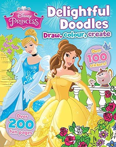 9781472382962: Disney Princess Delightful Doodles