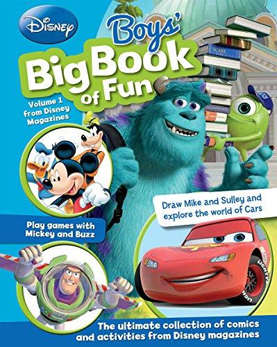 9781472385024: Disney Boys' Big Book Of Fun (Disney Big Bk Fun #2)
