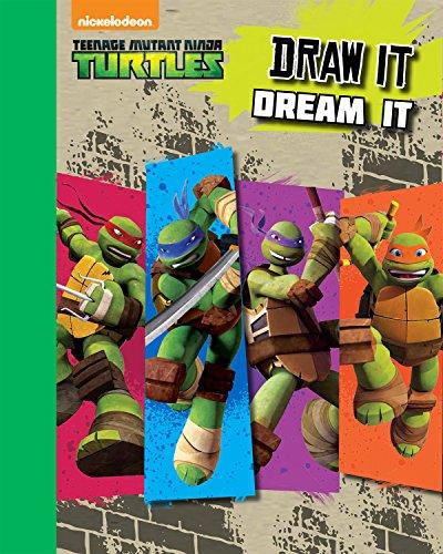 9781472389220: Teenage Mutant Ninja Turtles: Sketchbook Draw It, Dream It (Drawing Books)