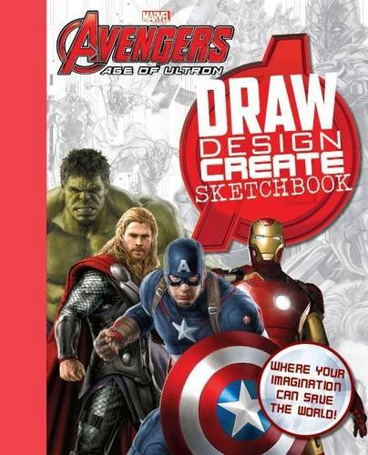 9781472390578: Marvel Avengers: Age of Ultron Draw Inspire Create Sketchbook