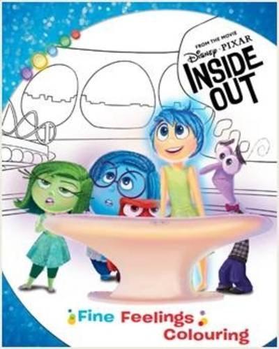 9781472391018: Disney Pixar Inside Out Fine Feelings Colouring