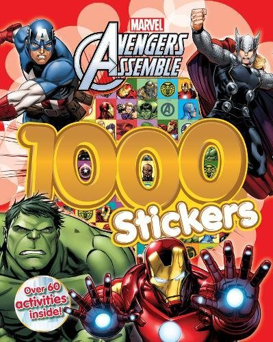 9781472391254: Marvel Avengers Assemble 1000 Stickers: Over 60 activities inside!