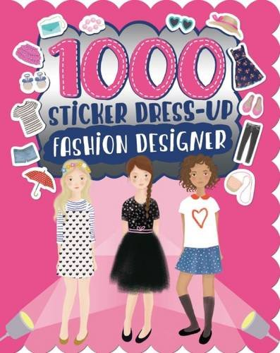 1000 Sticker Dress-Up Fashion Designer