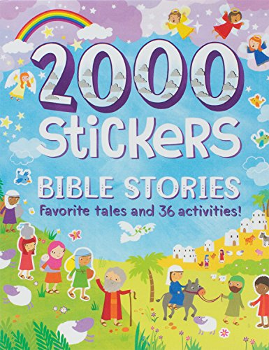 9781472391957: Bible Stories 2000 Stickers