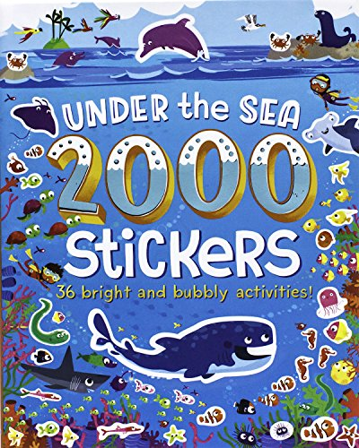 2000 Stickers Under the Sea