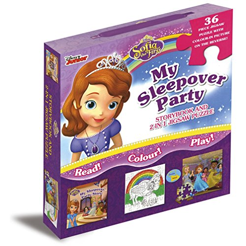 Disney Sofia the First Story & Jigsaw Carry-Along Box