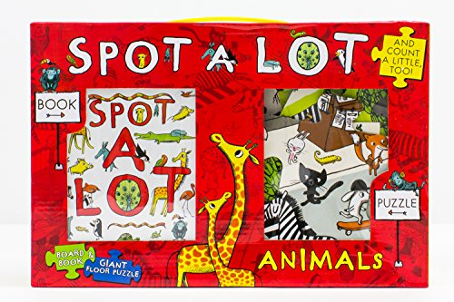 9781472394026: Spot A Lot Animals Book and 20 Piece Jigsaw Puzzle