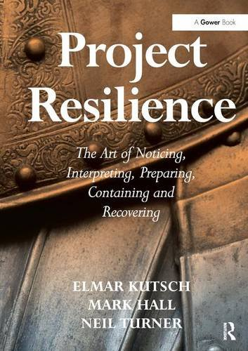 9781472423634: Project Resilience: The Art of Noticing, Interpreting, Preparing, Containing and Recovering