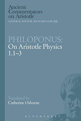 9781472557698: Philoponus: On Aristotle Physics 1.1-3