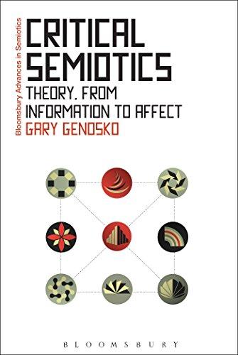 Critical Semiotics (Hardcover): Gary Genosko