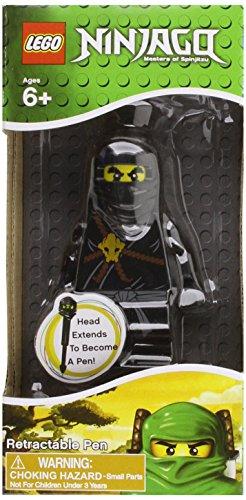 9781472604224: Lego Ninjago Retractable Pen Black Warri (Lego Licenced Stationery)