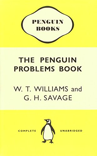 Problems Notebook (Penguin Notebooks): Williams, W.T., Savage,