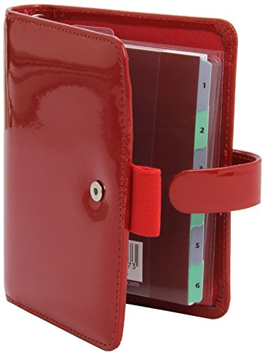 9781472607195: Filofax Pocket Patent Red Organiser