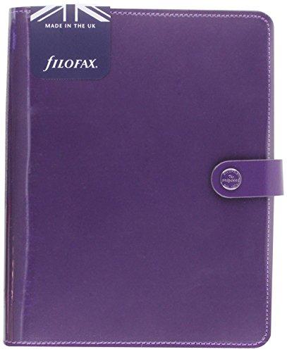 Filofax A5 the Original Patent Purple or
