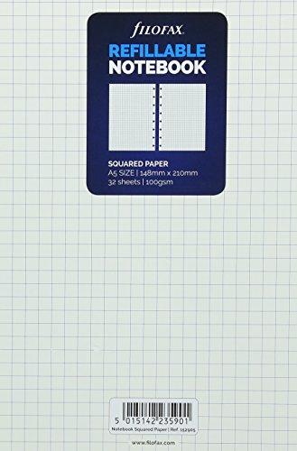 9781472618641: Filofax A5 Notebook Squared Paper Refill