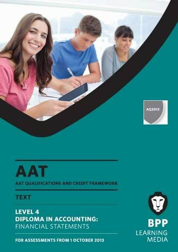 9781472703217: AAT Financial Statements: Study Text