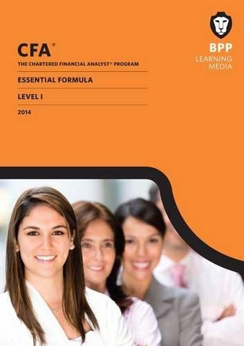 9781472704153: CFA Level 1: Essential Formulas