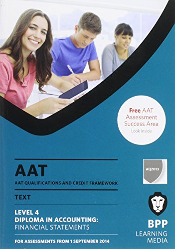 9781472709066: AAT Financial Statements: Study Text