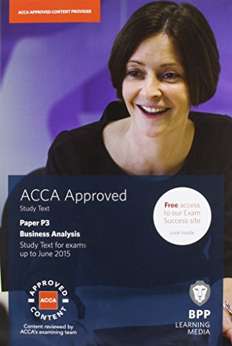 9781472710871: ACCA P3 Business Analysis: Study Text