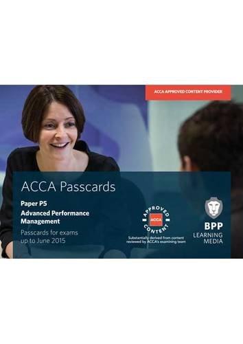 9781472711335: ACCA P5 Advanced Performance Management: Paper P5: Passcards