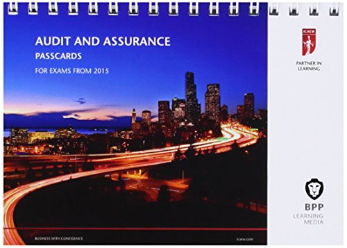 9781472714329: ICAEW Audit and Assurance: Passcards