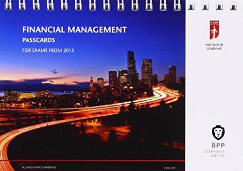 9781472714343: ICAEW Financial Management: Passcards