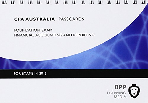 9781472714619: CPA Australia Financial Accounting and Reporting: Passcards