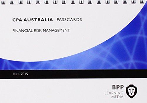 9781472714725: CPA Australia Financial Risk Management: Passcards