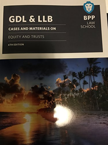 GDL & LLB: Cases and materials on: Matthew E Carn,Adam