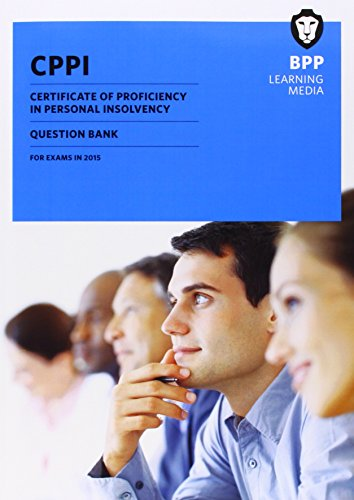 9781472726452: CPPI Certification of Proficiency in Personal Insolvency: Question Bank