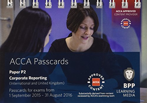 9781472727060: ACCA P2 Corporate Reporting (International): Passcards