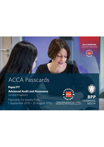 9781472727107: ACCA P7 Advanced Audit and Assurance (UK): Passcards
