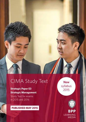 9781472734112: CIMA E3 Strategic Management: Study Text