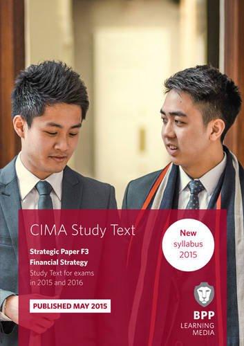 9781472734143: CIMA F3 Financial Strategy: Study Text