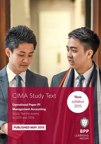 9781472734150: CIMA P1 Management Accounting: Study Text