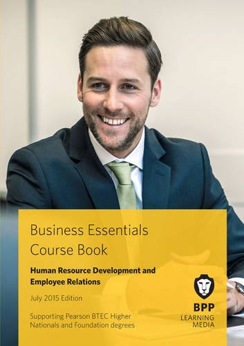 9781472734969: Business Essentials Human Resource Development and Employee Relations: Study Text