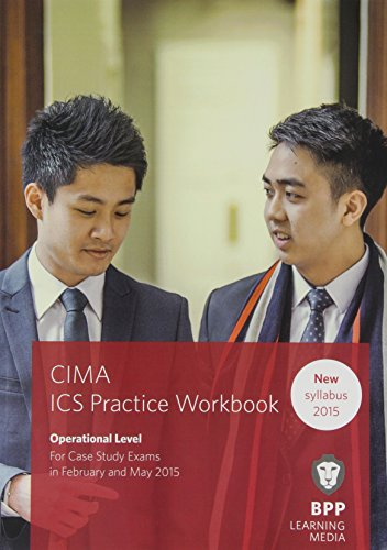 9781472735676: CIMA Operational E1, F1 & P1 Integrated Case Study: Practice Workbook