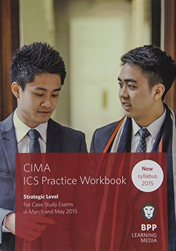 9781472735690: CIMA Strategic E3, F3 & P3 Integrated Case Study: Practice Workbook