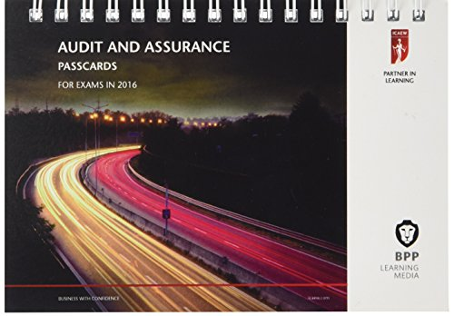 9781472739209: ICAEW Audit and Assurance: Passcards