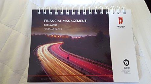 9781472739223: ICAEW Financial Management: Passcards
