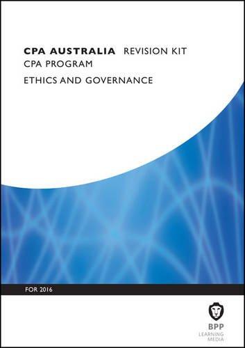 9781472739797: CPA Australia Ethics and Governance: Revision Kit