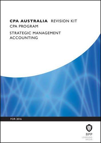 9781472739803: CPA Australia Strategic Management Accounting: Revision Kit
