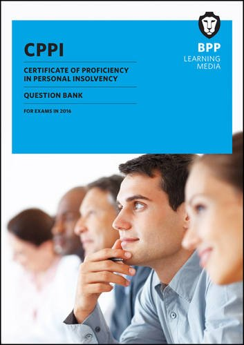 9781472739896: CPPI Certification of Proficiency in Personal Insolvency: Question Bank
