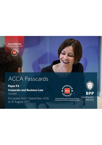 9781472744517: ACCA F4 Corporate and Business Law (Global